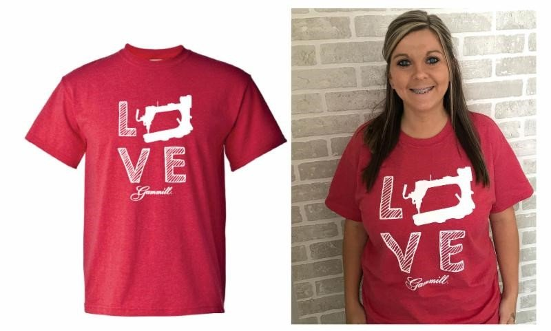 Gammill Love T-Shirt  -