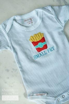 Baby Bodysuit - Grey