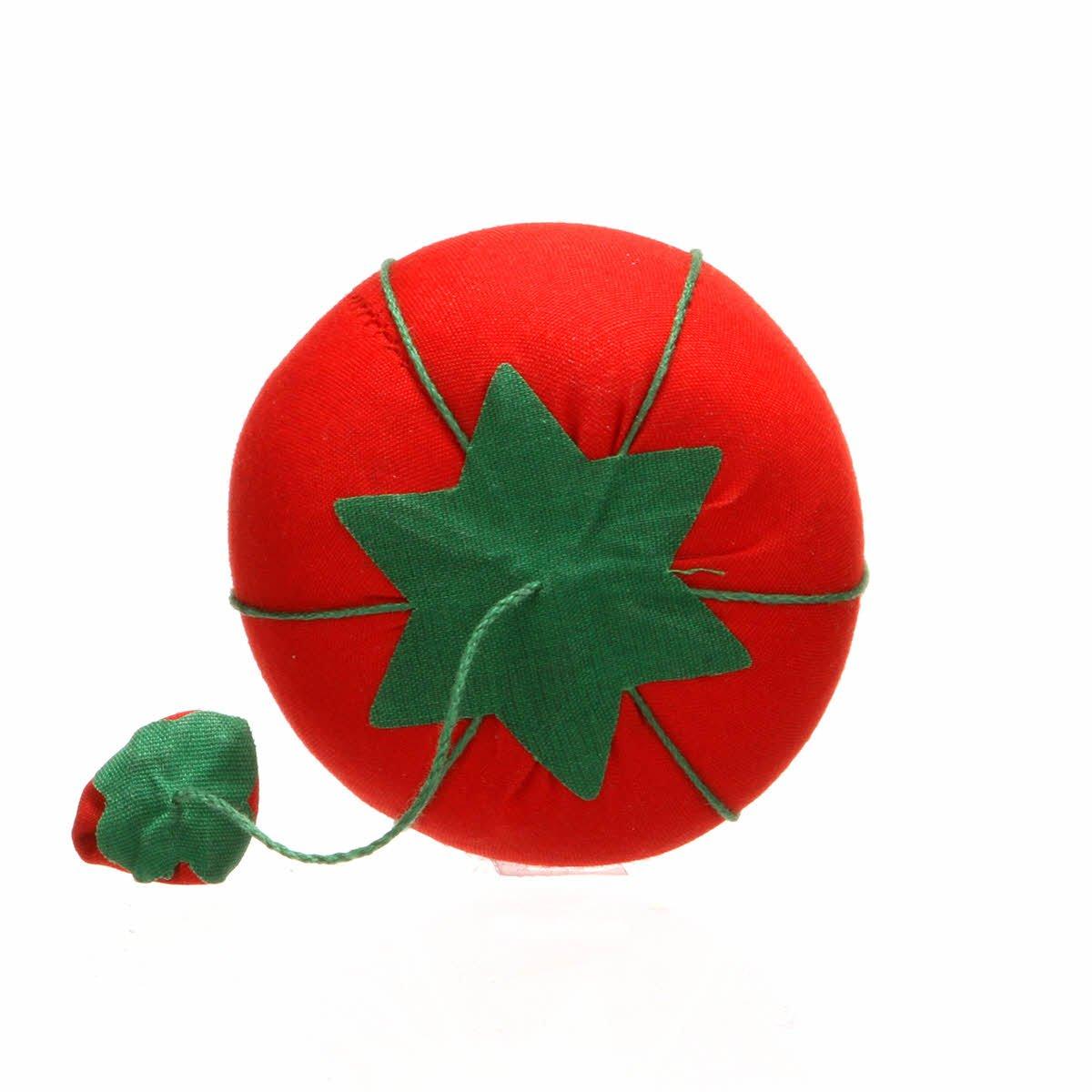 Tomato Pin Cushion w/ Emery