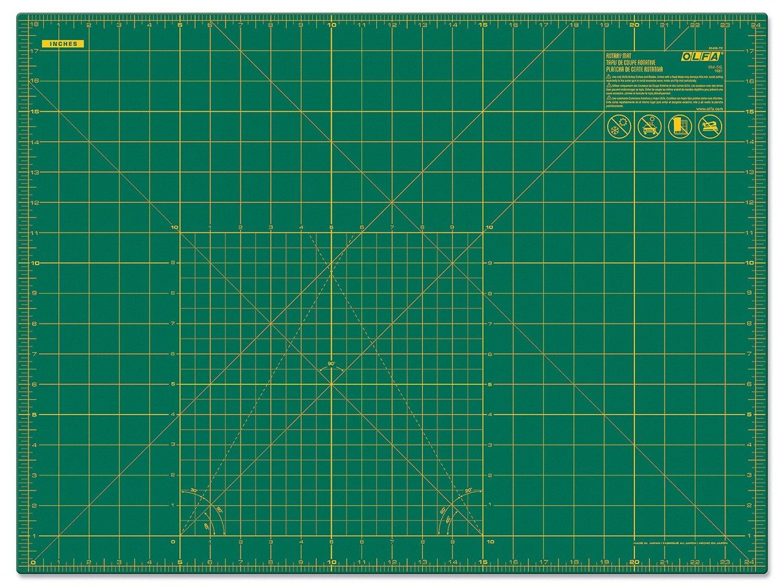 Cutting Mat with Grid 18 x 24 - Olfa