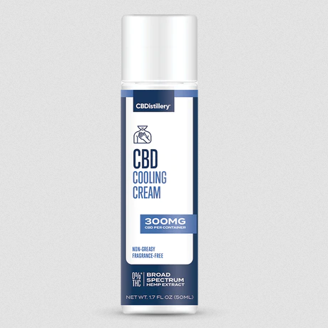 Broad Spectrum CBD Cooling Cream - 300mg