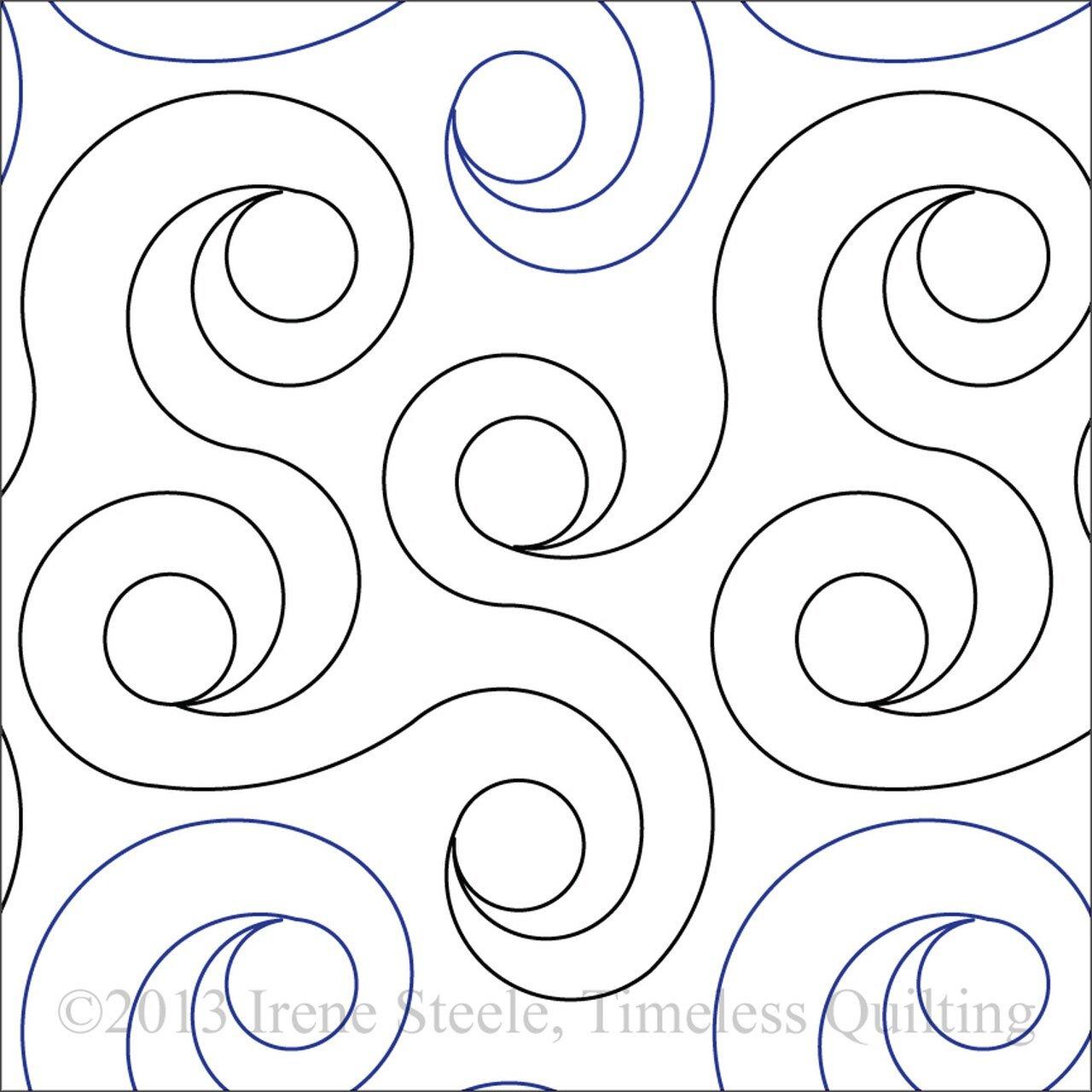 Spiral Rings - 10 in.
