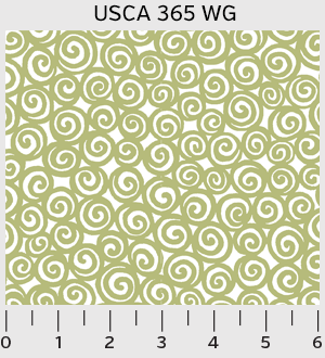 Urban Scandinavian Swirl Fabric
