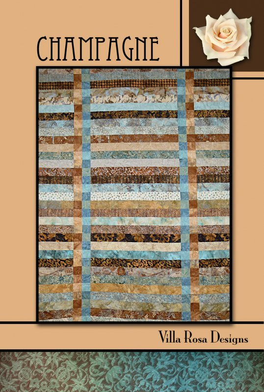 Champagne Quilt Pattern (VRD)