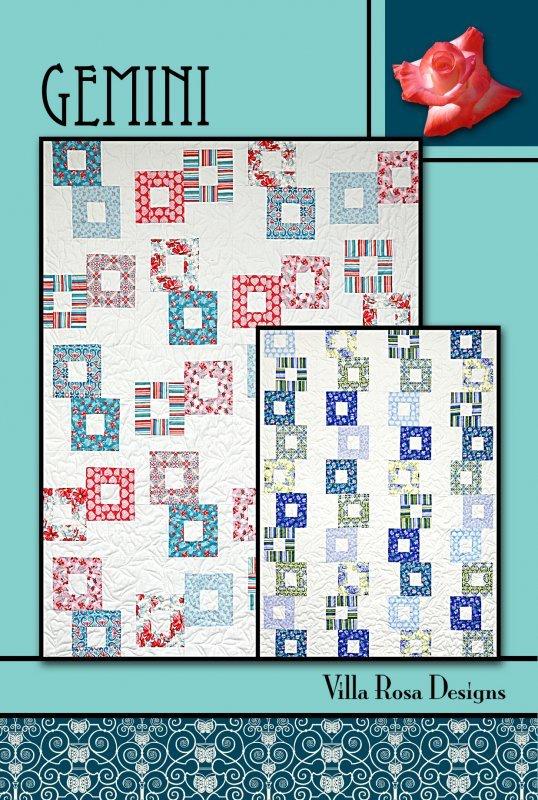 Gemini Quilt Pattern  (VRD)