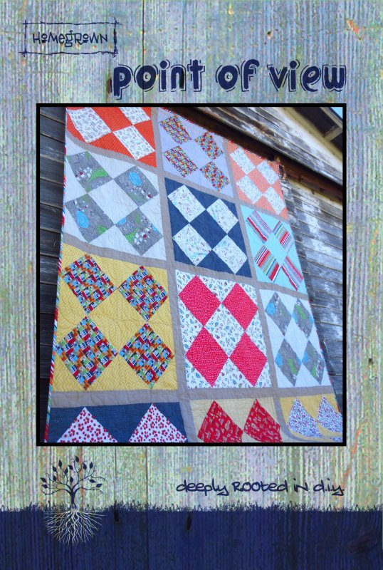 Point Of View Quilt Pattern (VRD)