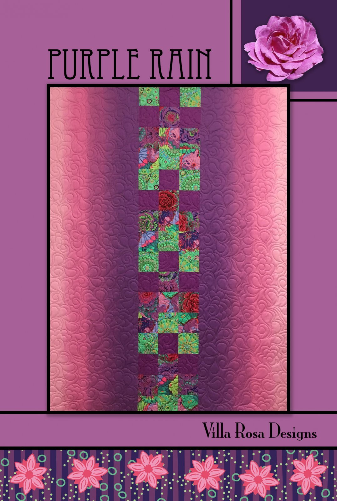 Purple Rain Quilt Pattern (VRD)