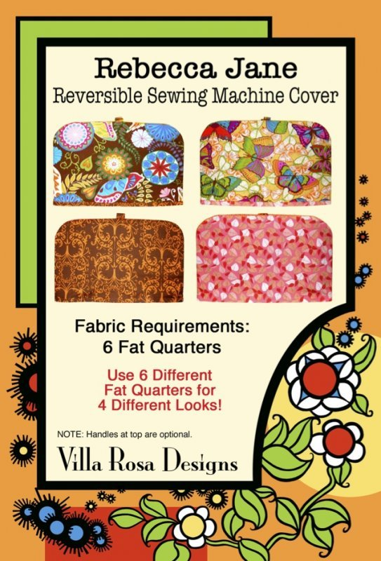 Rebecca Jane Reversible Sewing Machine Cover (VRD)