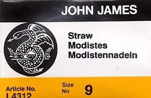 John James Straw Needles Size 9 25 cnt
