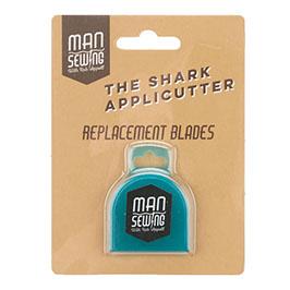 Man Sewing Shark Applicutter Rotary Cutter  Replacement Blades