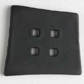 55mm Black 4 Hole Fashion Button
