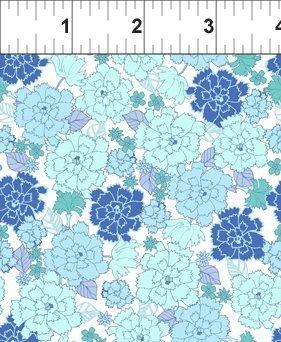 Garden Delights  Carnation - Blue  - In The Beg