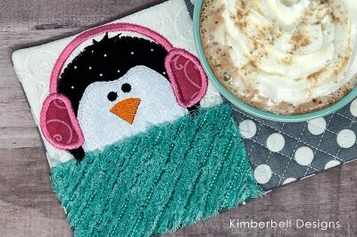 Warm and Whimsical Penguin Mug Rug Kit