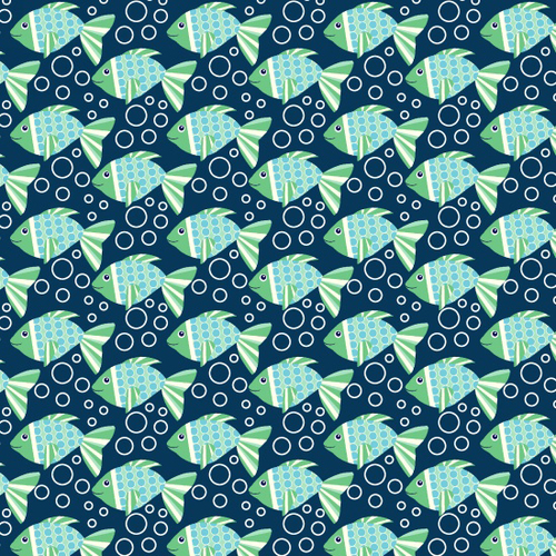 Sea Buddies - Fish with Buddies by Blank Quilting