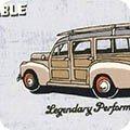 Old Guys Rule   Still Plays With Trucks - Denim - Robert Kaufman