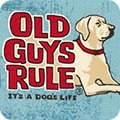 Old Guys Rule   Lucky Dog - Denim - Robert Kaufman