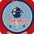 Old Guys Rule    Grill Master - Red - Robert Kaufman