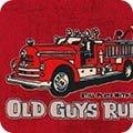 Old Guys Rule   American Patriot - Red - Robert Kaufman