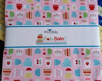 Bake Sale 2 10 Inch Stackers 42 Pcs/bundle
