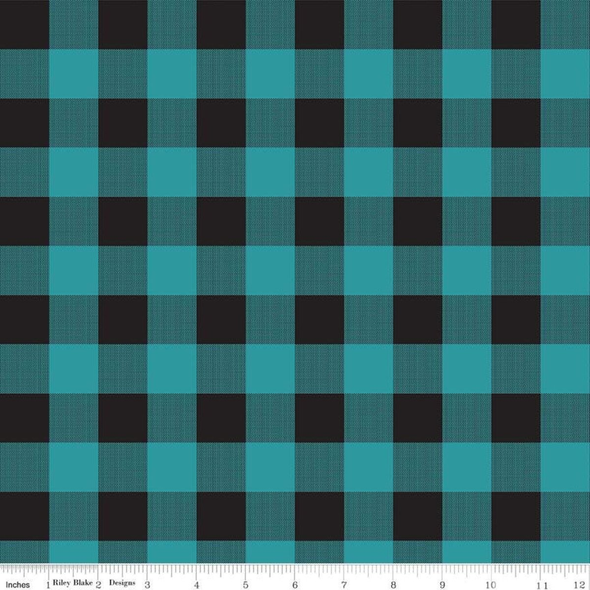 Gone Cammping Plaid Teal