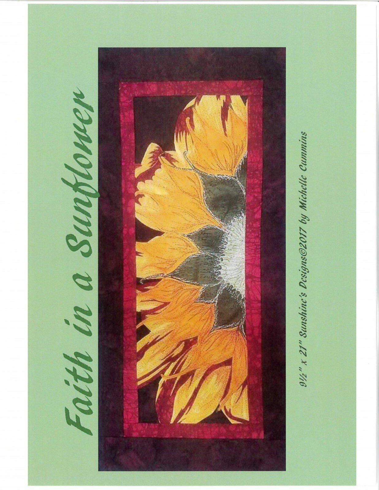 Faith in a Sunflower - Michelle Cummins