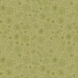 Paracas Green Ditsy Print
