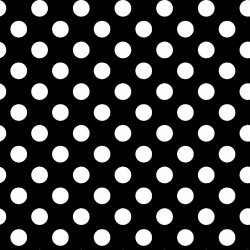 Kimberbell Basics  Dots - Black - Maywood Studio