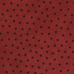 Woolies Flannel - Polka Dot - Red - Maywood Studio