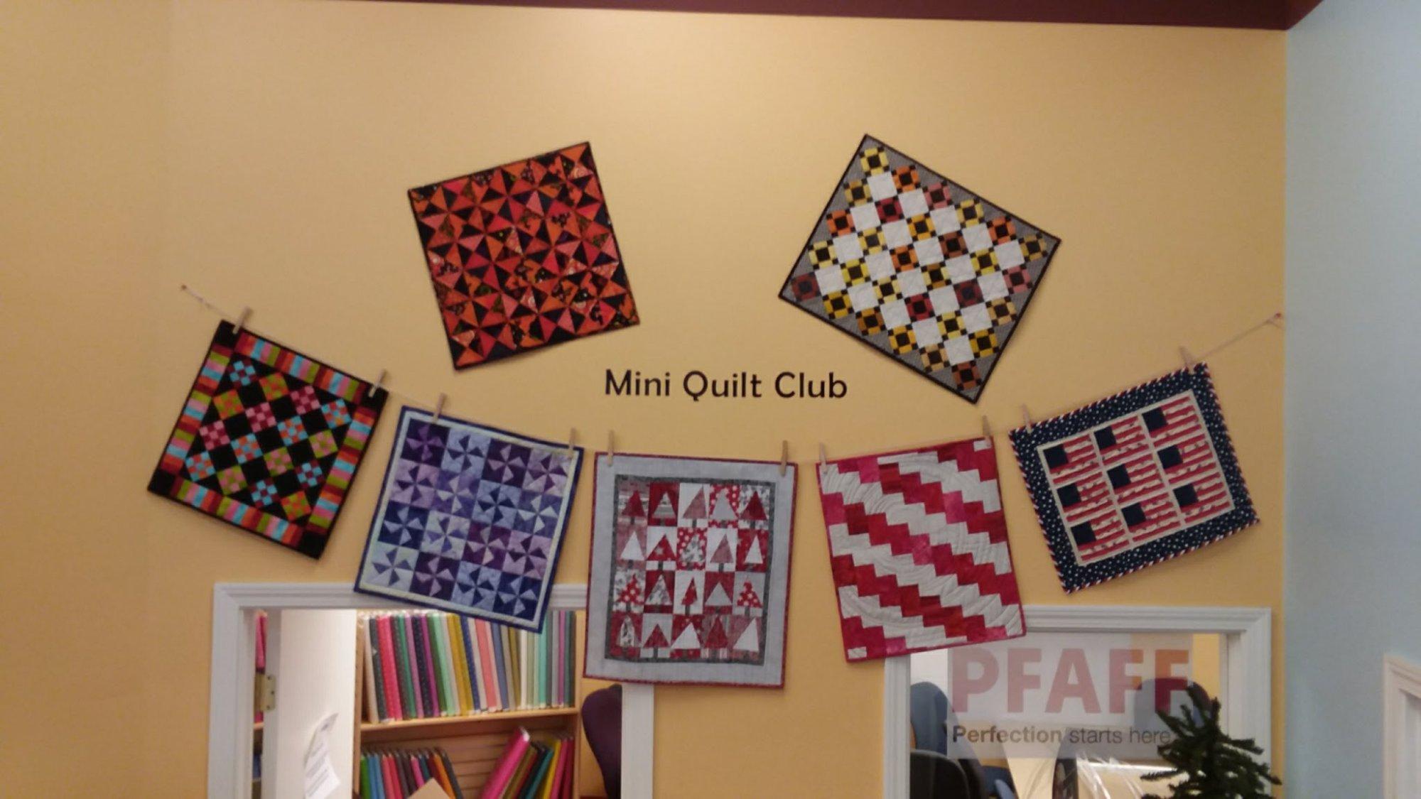 Miniature Quilt Club : quilt club - Adamdwight.com