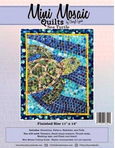 Mini Mosaic  Sea Turtle