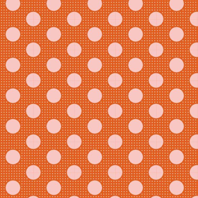Tilda Basics: Medium Dots - Ginger