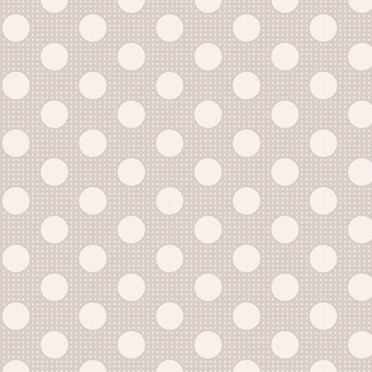 Tilda Basics: Medium Dots - Light Grey