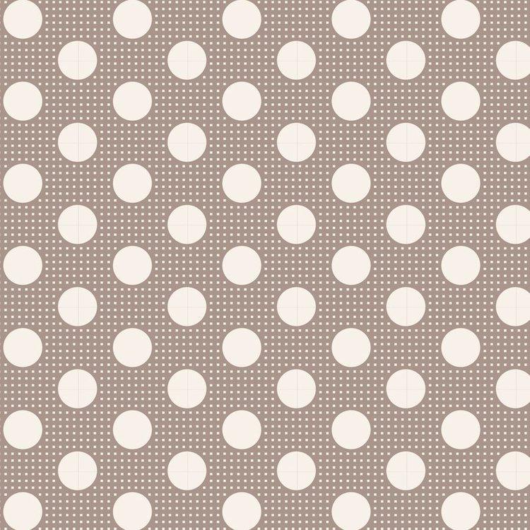 Tilda Basics: Medium Dots - Grey