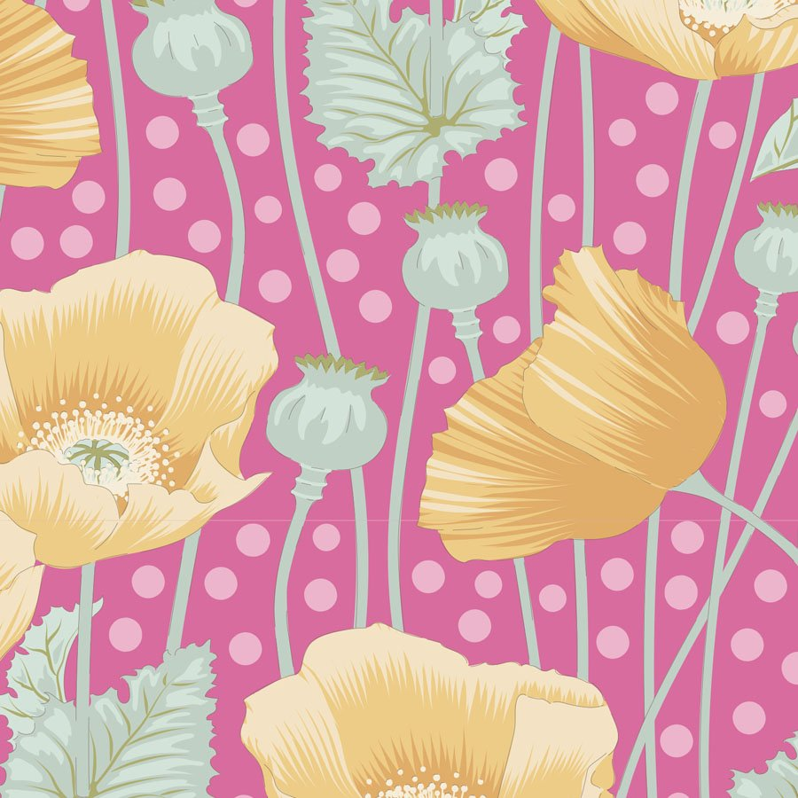 100303 Gardenlife - Poppies - Pink