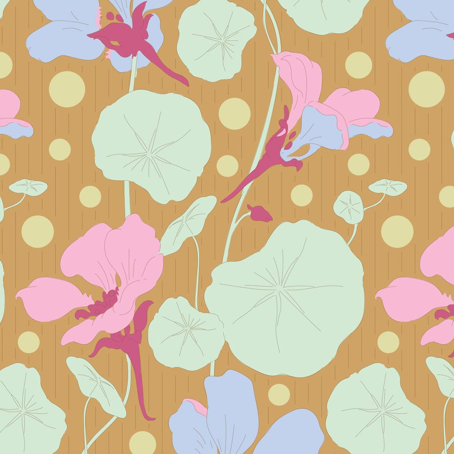 100304 Gardenlife - Nasturtium - Mustard