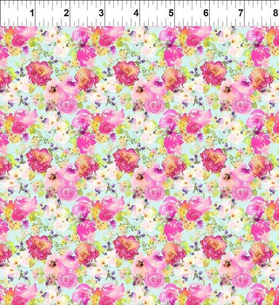 10GSH1 Watercolor Beauty - Lush - Pink