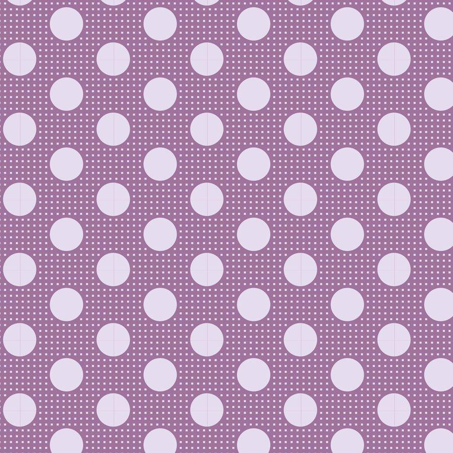 Tilda Basics: Medium Dots - Lilac