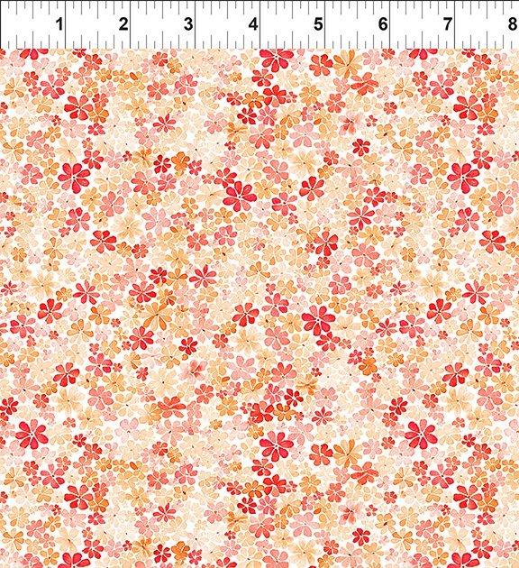 17GSH1 Watercolor Beauty - Daisy - Orange