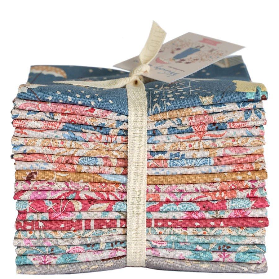 300118 - Windy Days Fat Quarter Bundle - 20 Fabrics