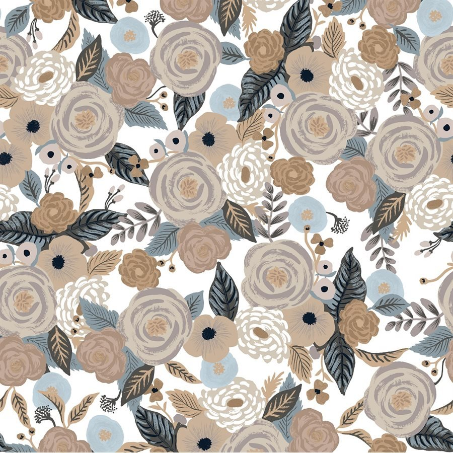 Linen Multi Canvas - Garden Party by Rifle Paper Co. for Cotton + Steel