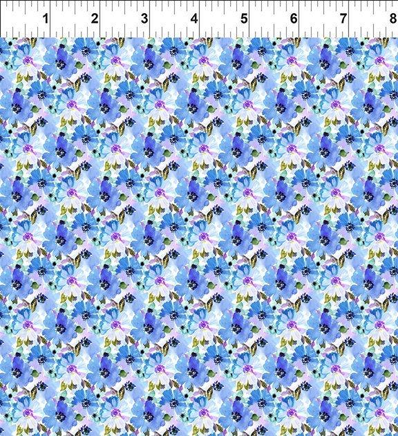 3GSH2 Watercolor Beauty - Summer - Blue