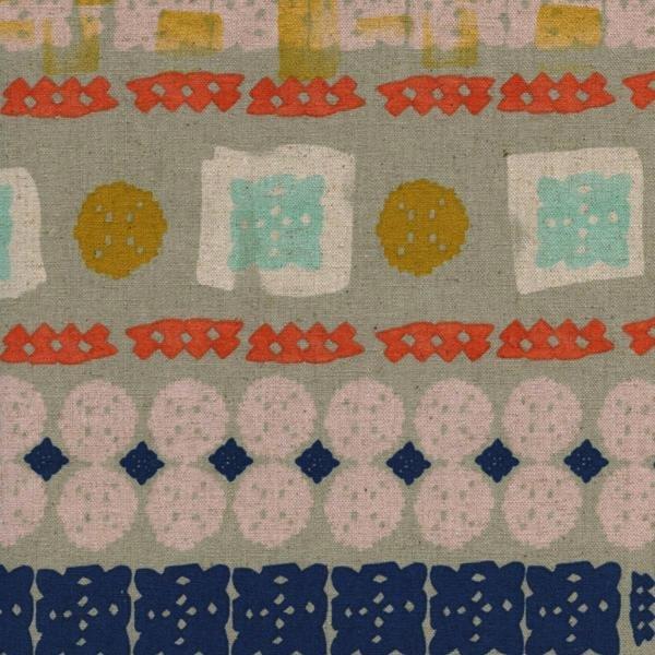 C+S Linen - Paper Bandana 34023-12 Paper Cuts