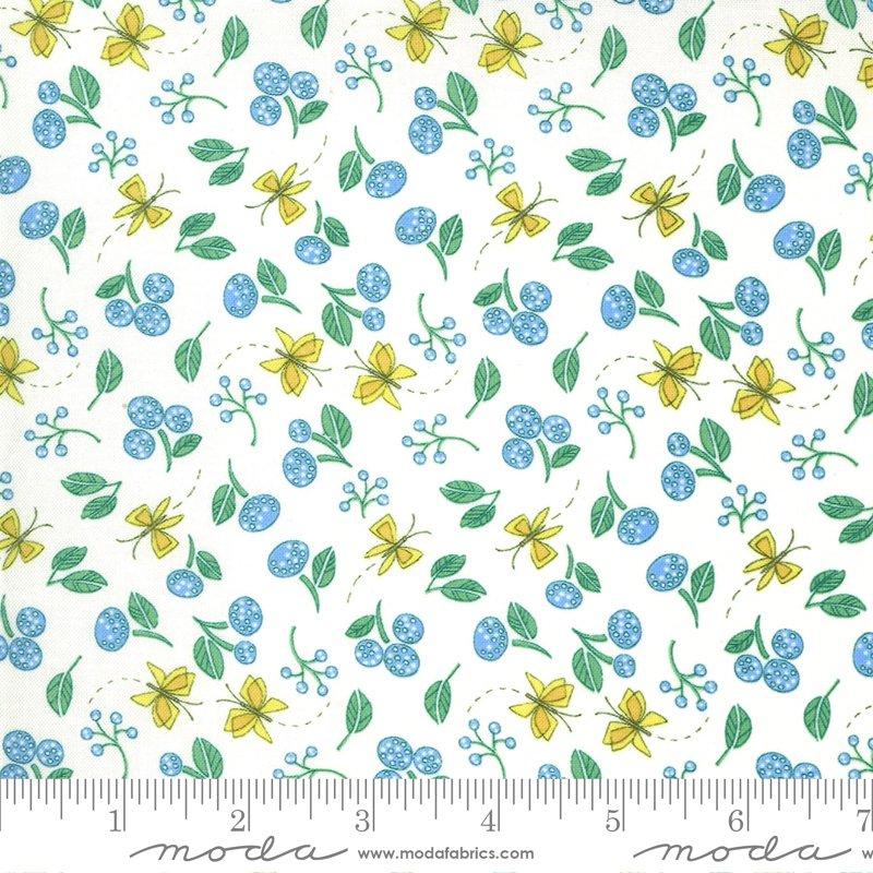 48693 11 Cottage Bleu Cream