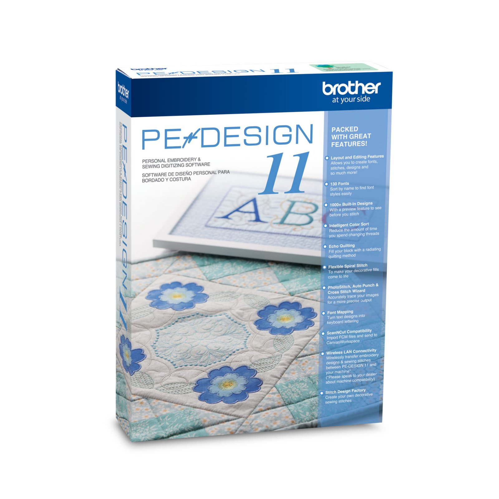 Brother - PE-Design 11 Embroidery Software