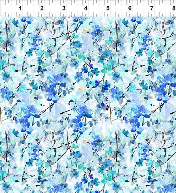4GSH1 Watercolor Beauty - Orchid - Blue
