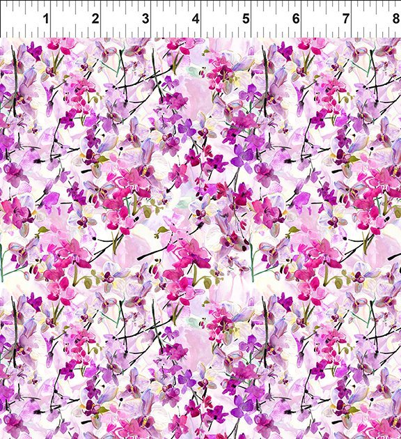 4GSH2 Watercolor Beauty - Orchid - Magenta