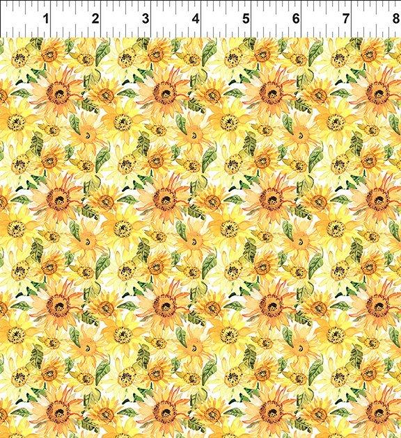 6GSH1 Watercolor Beauty - Sunflower - Gold