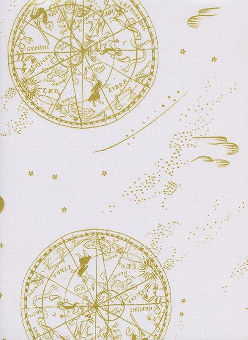 38034-11 Menagerie by RPC Metallic Cotton Lawn