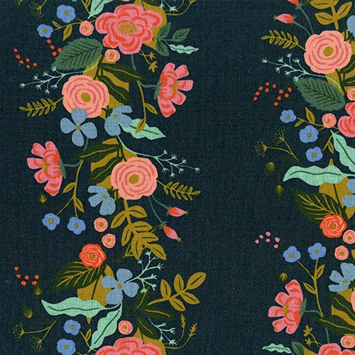38067-022 English Garden by RPC for Cotton and Steel CANVAS