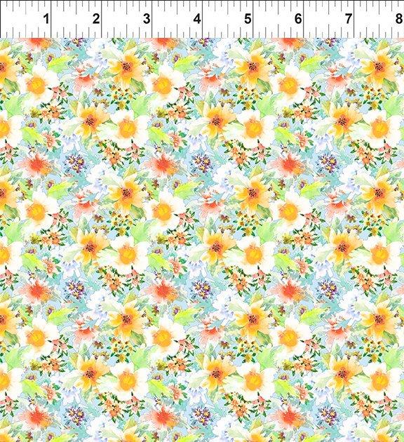 8GSH1 Watercolor Beauty - Daffodil - Blue